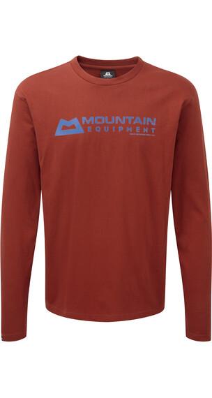 Mountain M's Equipment Branded LS Tee Henna